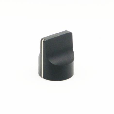Metal Knob - Pointer (Black)