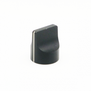 Metal Knob - Pointer (Black)