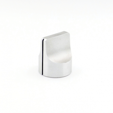 Metal Knob - Pointer (Silver)