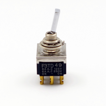 F3TD49 6A Toggle Switch