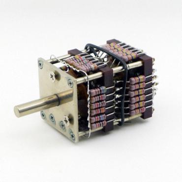 TKD RR35 24-Step Audio Attenuator (250K) (Mono) (Shunt Type)
