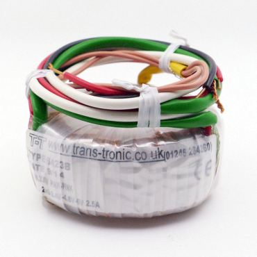 Miniature Filament Toroidal Transformer (6423B) (UK)