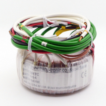 Universal Filament Toroidal Transformer (6917C) (UK)